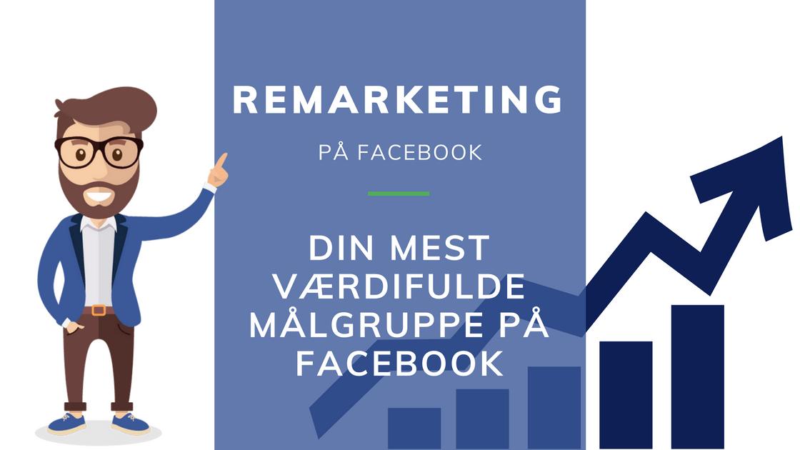 remarketing målgruppe til facebook annoncering oprettelse