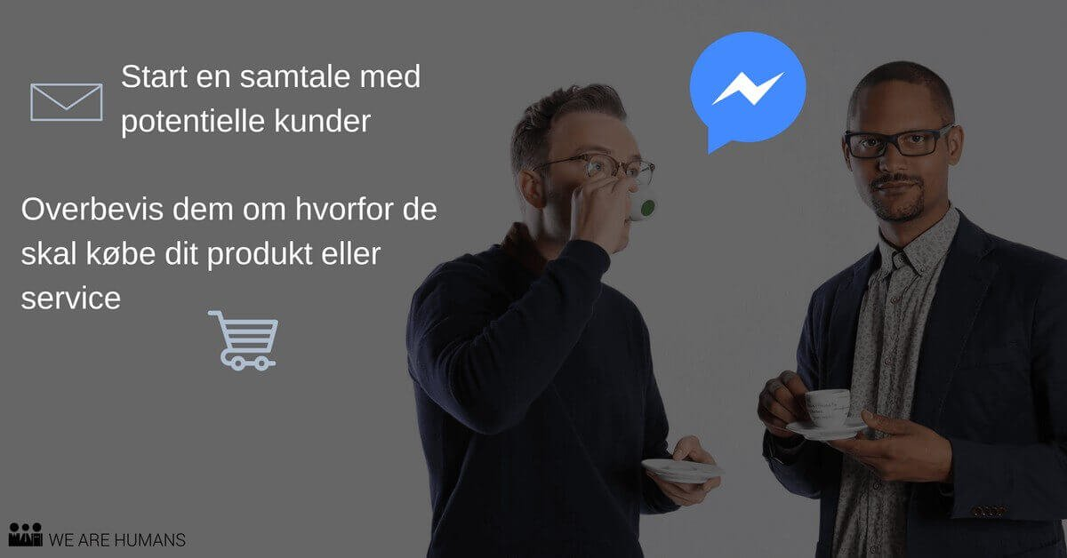 Facebook Messenger Destination annonce