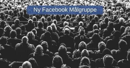 Facebook målgruppe