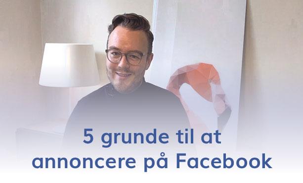 Hvorfor Facebook annoncering? Vi er et Facebook Bureau