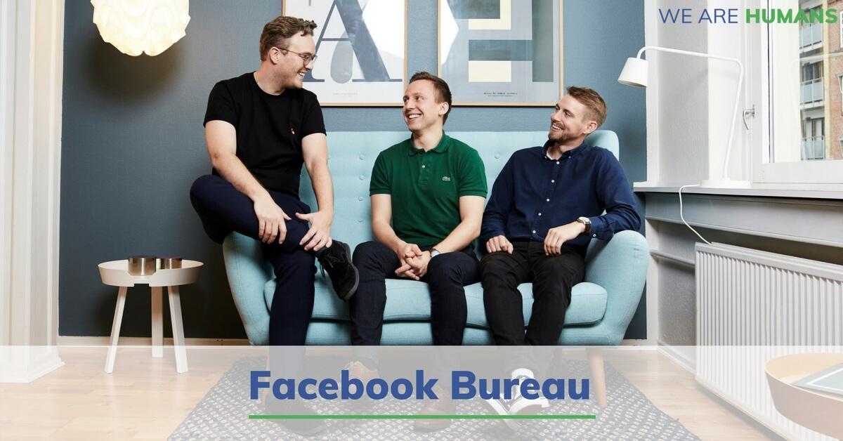 facebook annoncering we are humans facebook bureau. Black Bedroom Furniture Sets. Home Design Ideas