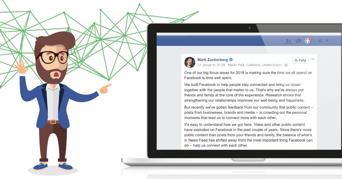 Facebook News Feed algoritme opdatering 2018 - 7 tips til at modstå algoritme-ændringen