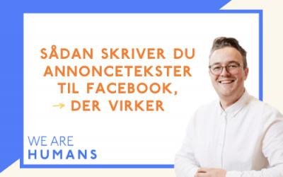 Annoncetekster til Facebook annoncering / Instagram annoncering